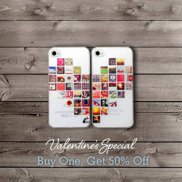 """I'm Yours…"" Surprise your Valentine with Casetagram's limited edition iPhone cases!"