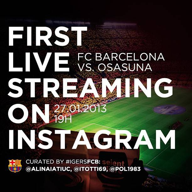 fc barcelona live streaming