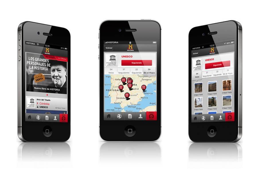 El canal de televisión Historia lanza su propia app basada en Instagram