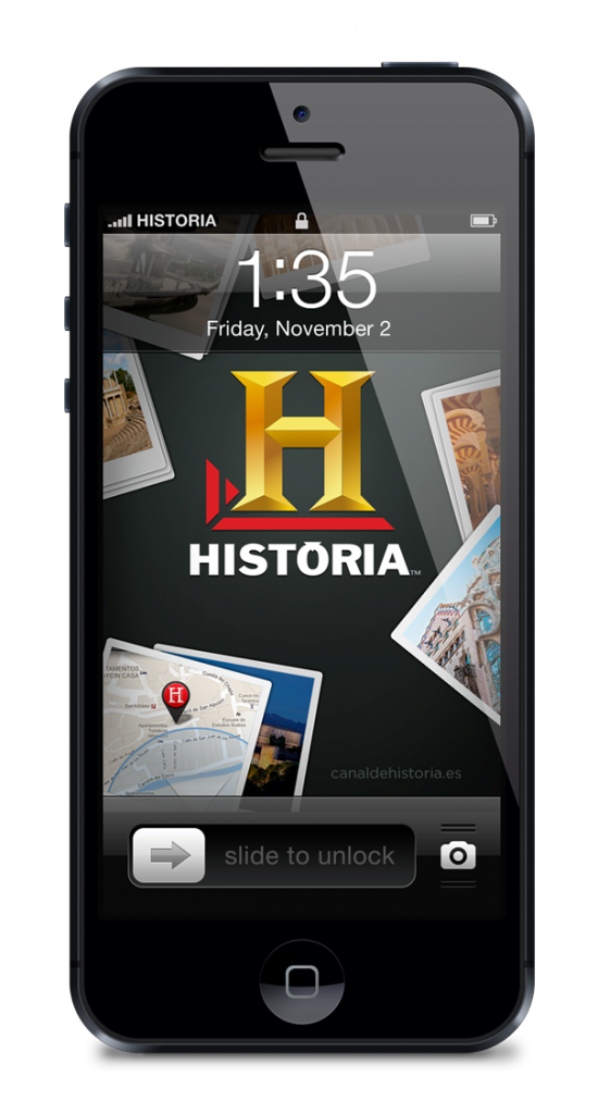 App iPhone Historia Canal de Historia Tv