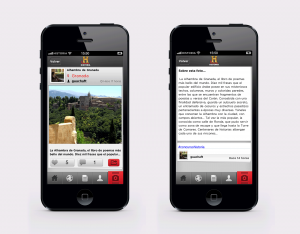 App iiPhone Historia Histogram
