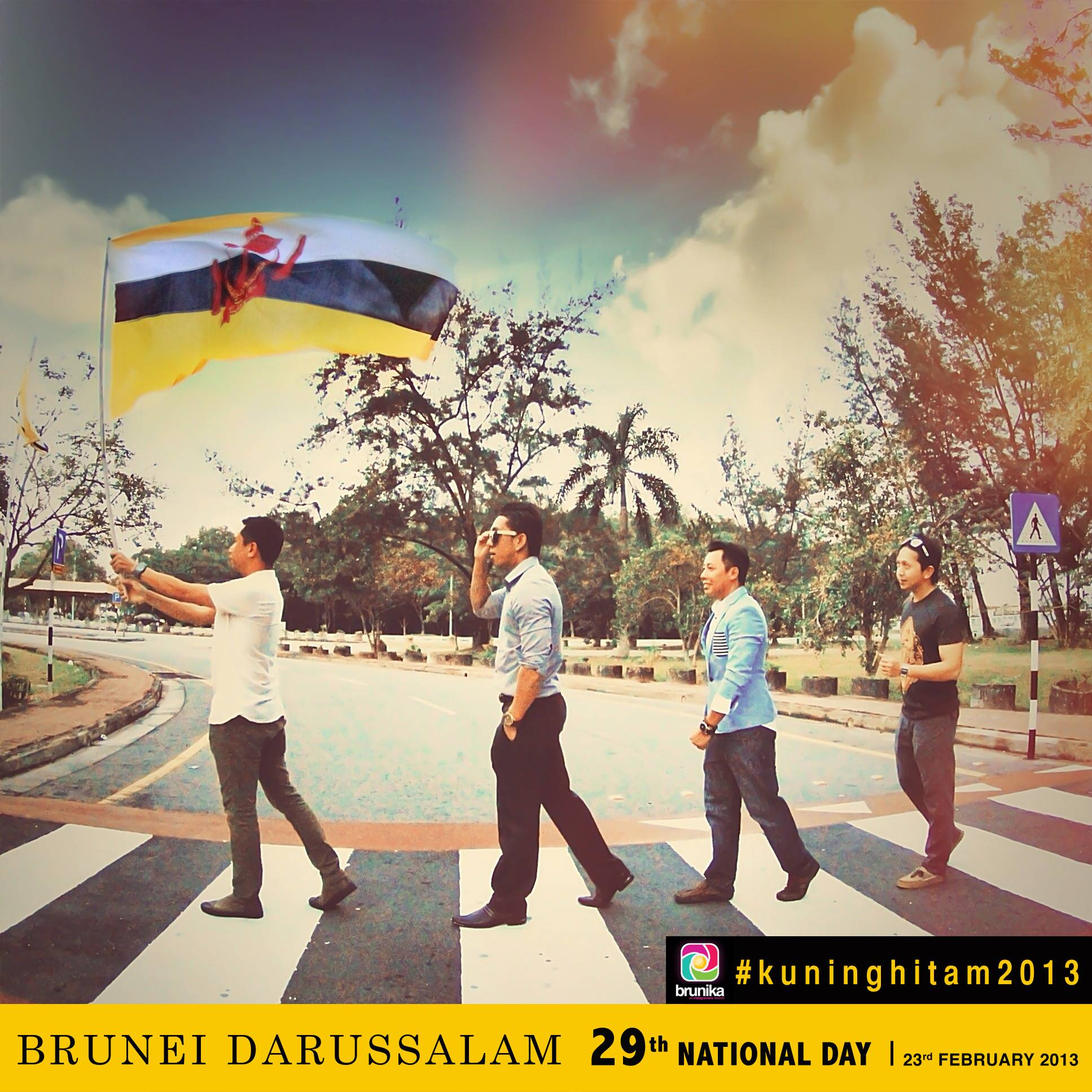 Brunei Darussalam's National Day on Instagram with our Instagramers Brunika Team
