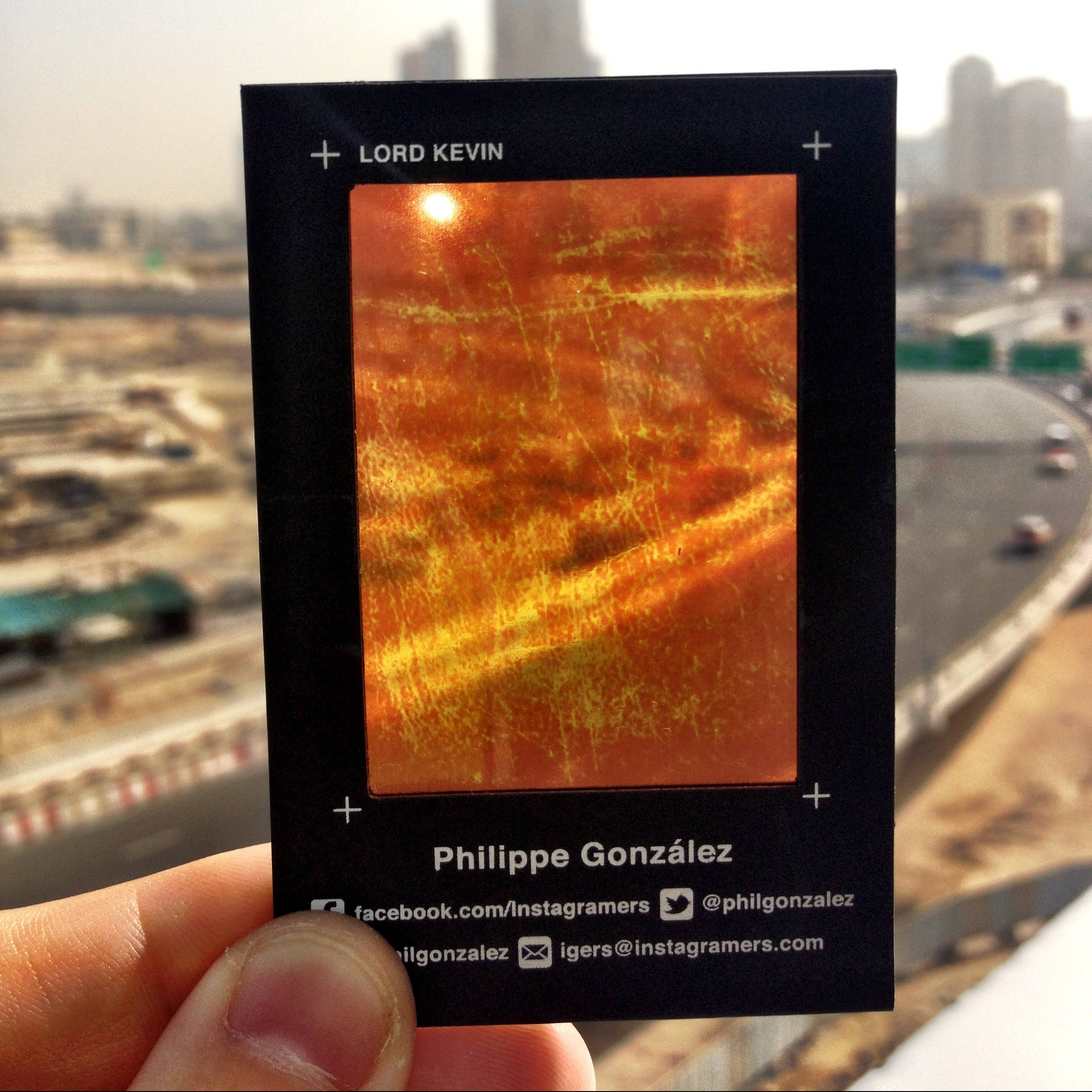 Trendy New Business Cards Inspired on Instagram Filters