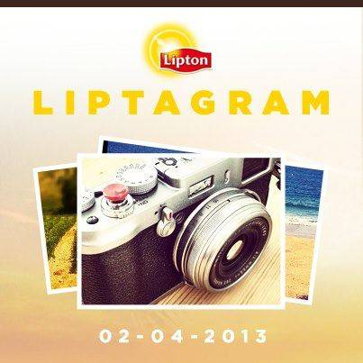 LiptaGram the first Instagram Contest by Lipton