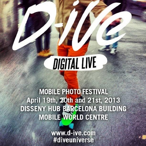 D-IVE , Festival de Fotografía Móvil en Barcelona los próximos 19, 20 y 21 de abril