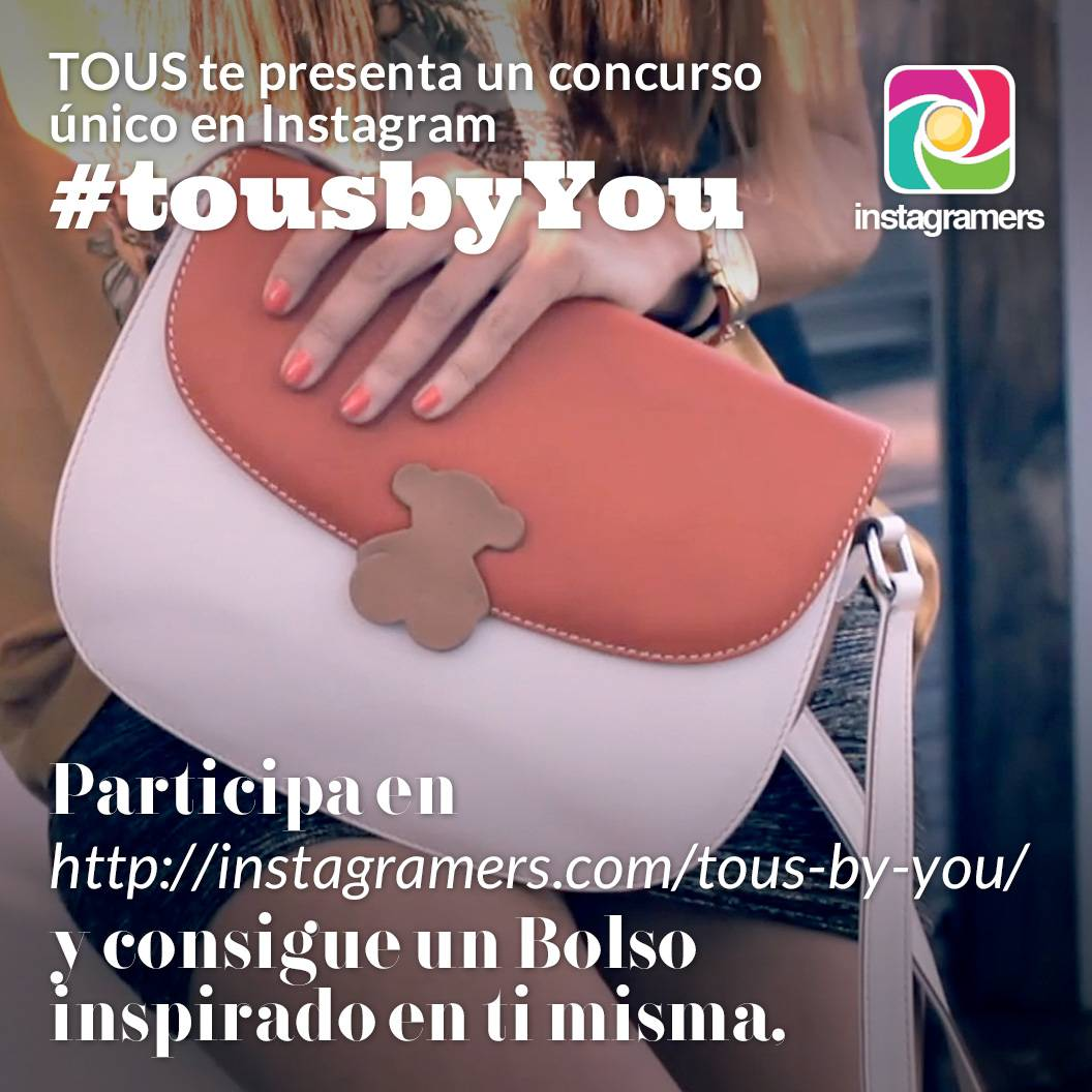 Tous By You, Customiza tu Bolso con Instagram