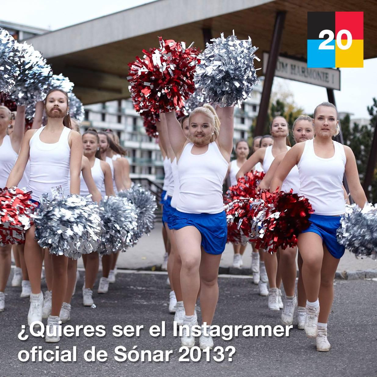 ¿Quieres ser el Instagramer oficial de Sónar 2013?