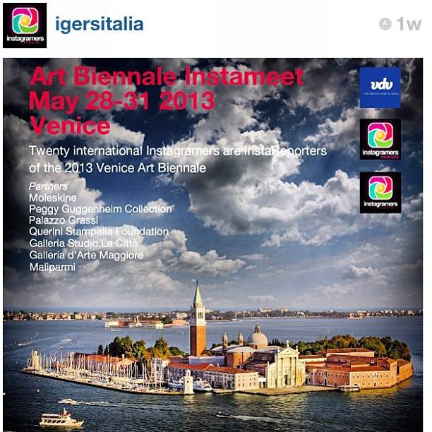 22 Instagramers are official InstaReporters at Venice Art Bienale