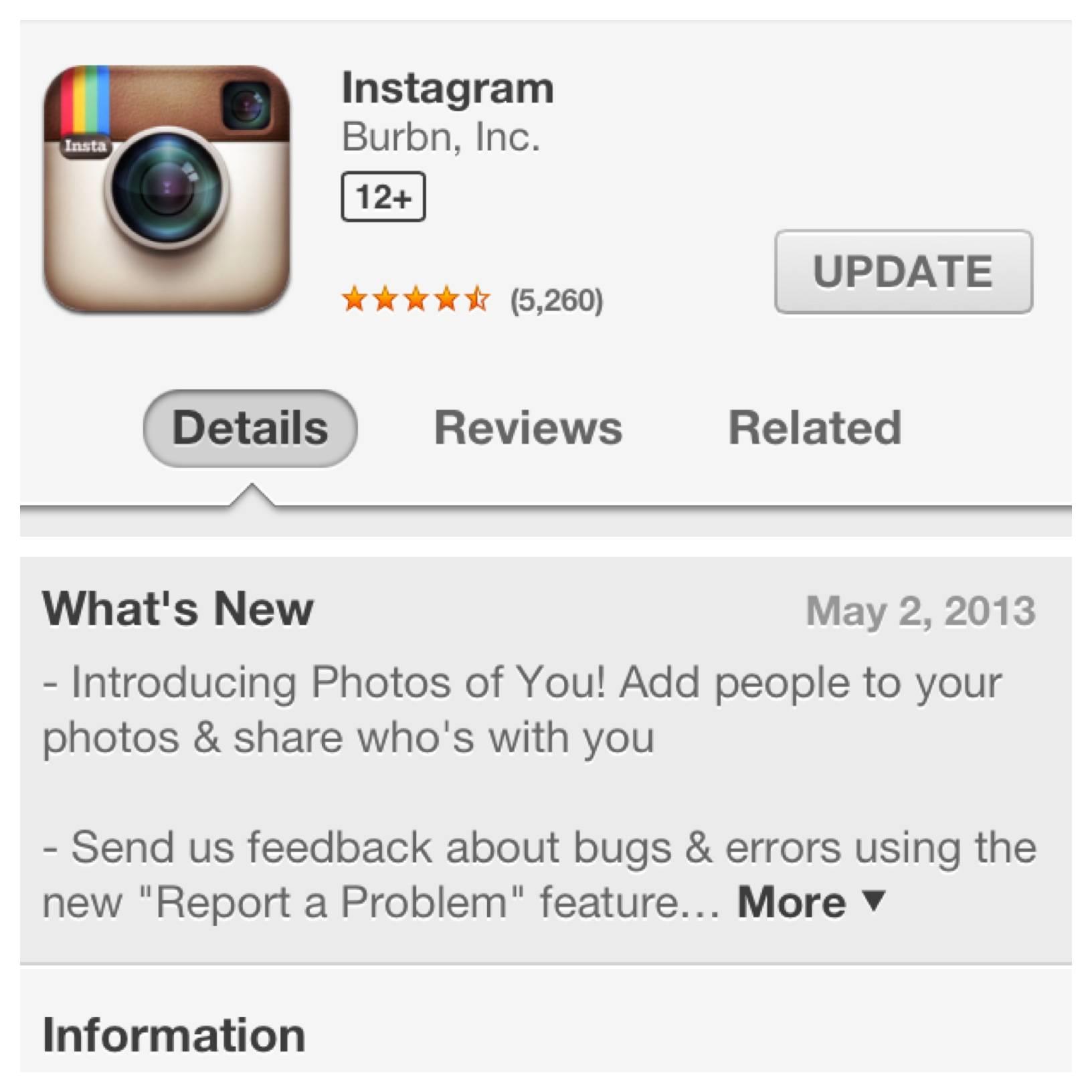 Photo of You – Ahora puedes etiquetar tus amigos en Instagram