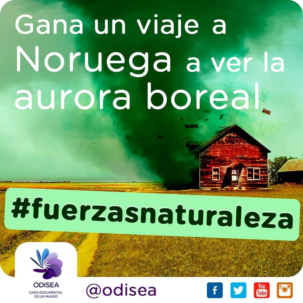 Gana un viaje para ver la aurora boreal noruega con el concurso de Canal Odisea #FuerzasNaturaleza