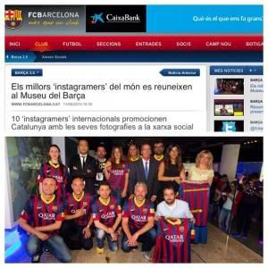catalunya experience instagram visits fc barcelona instagram