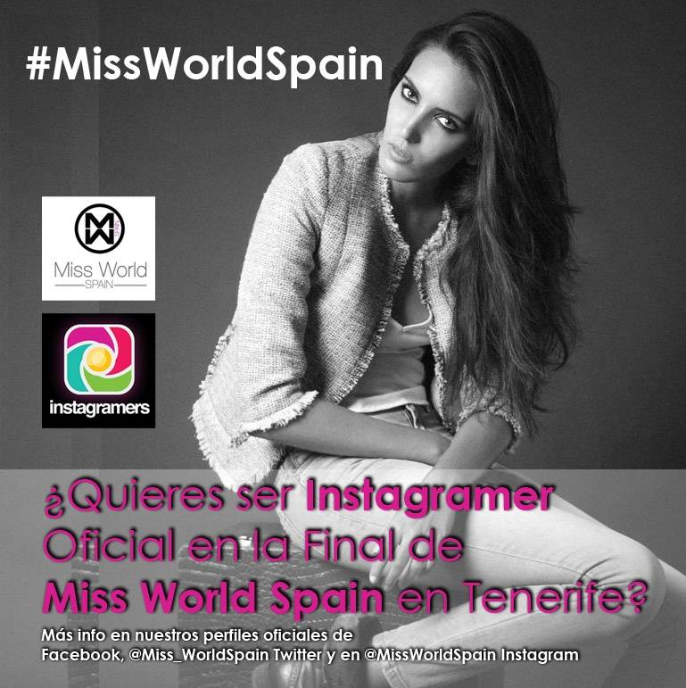 Acompaña a las candidatas de Miss World Spain a la final en Tenerife