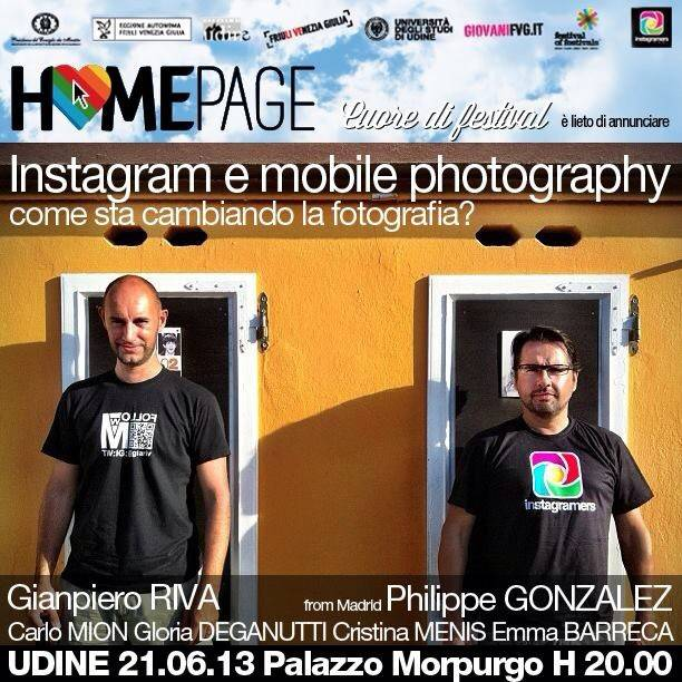 Instagram and Mobile Photography Event with Friuli Venezia Giulia, Italy