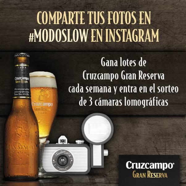 Captura tus momentos en #ModoSlow con Cruzcampo Gran Reserva