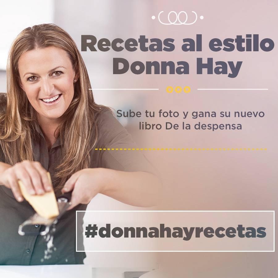 Gana libros de recetas de donna hay en instagram gracias a for Canal cocina cocina de familia