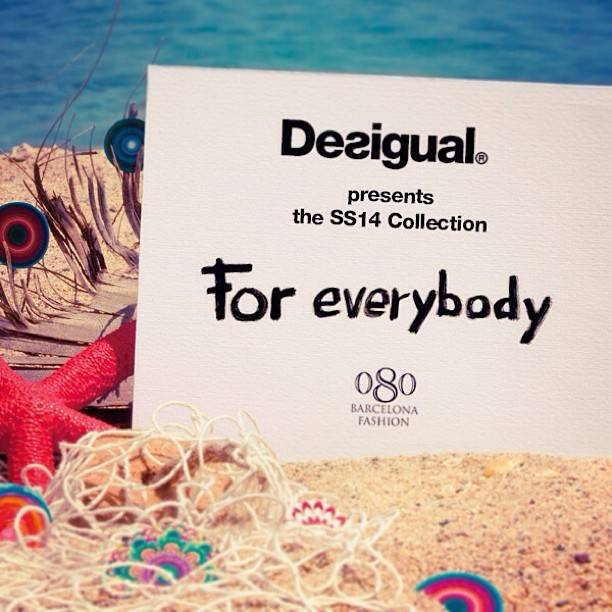 Book you seat on Instagram. Enjoy the catwalk from the front row! #desigualforeverybody