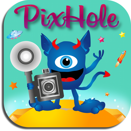 PixHole App, a photographic game based on Instagram