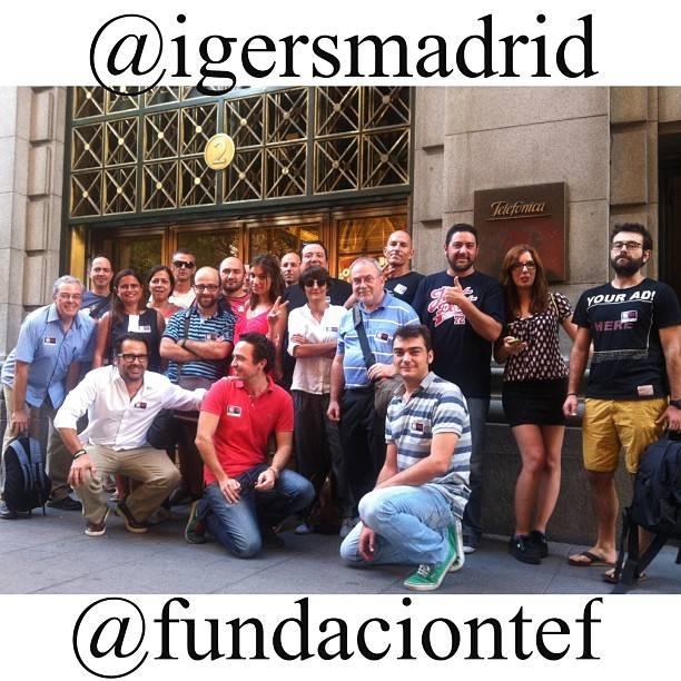 El cielo de Madrid retratado por Instagramers desde el edificio Telefónica Gran Vía