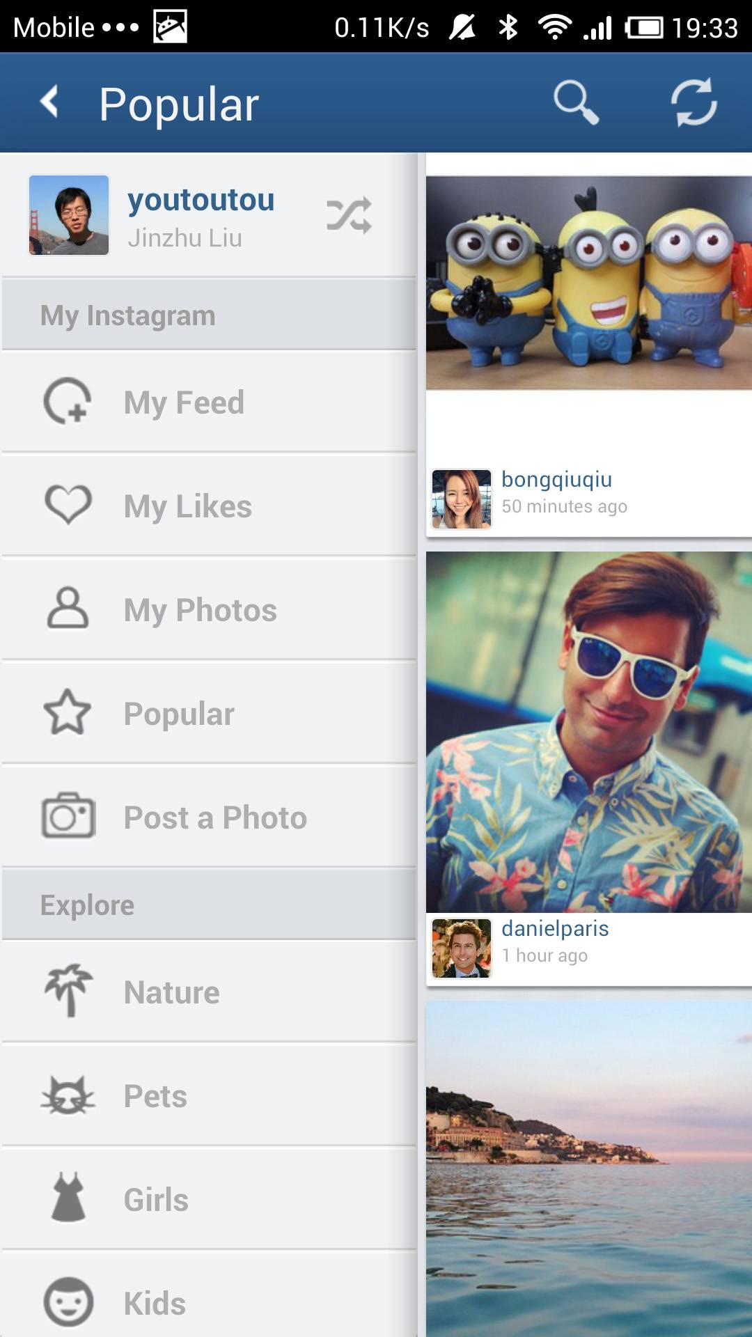 Padgram, the No.1 iPad app for Instagram, just launched its Android App Version