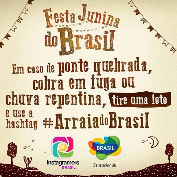 Junes Festival in Brazil with IgersBrasil and Embratur on Instagram