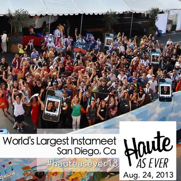 Haute As Ever – World's Largest Instameet in San Diego (Recap)