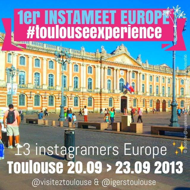 Toulouse Experience 13 european instagramers promote the french city through Instagram (video)