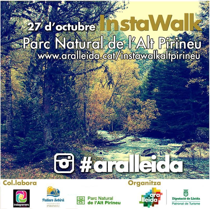 Instawalk en el Alt Pirineu con Instagramers Lleida y Ara Lleida