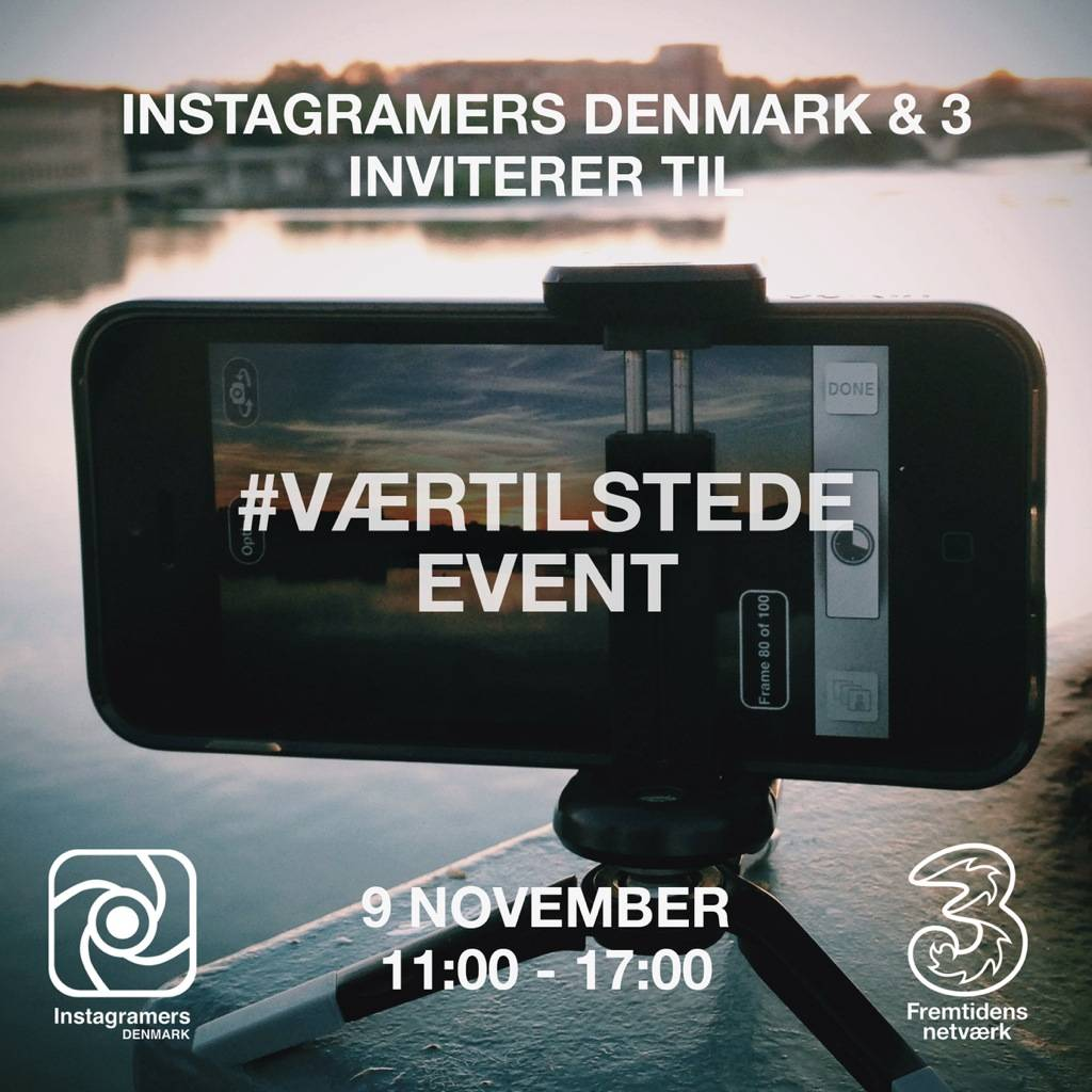 Instameet Instagramers Denmark together with Mobile Provider 3