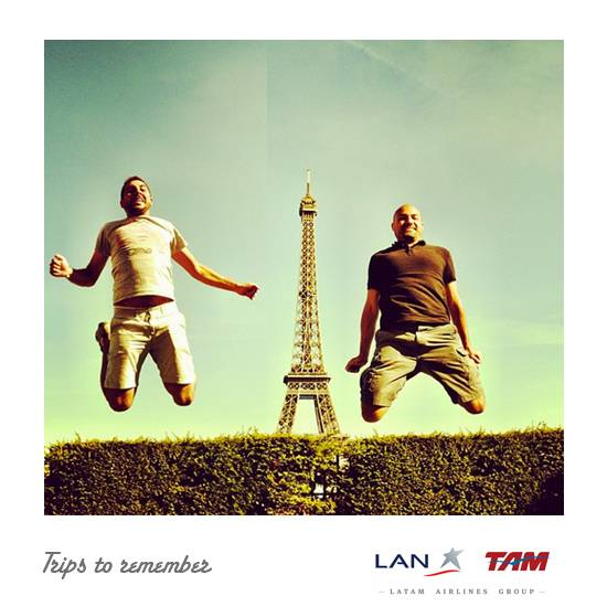 instamagnets instagram contest with Lan Airlines