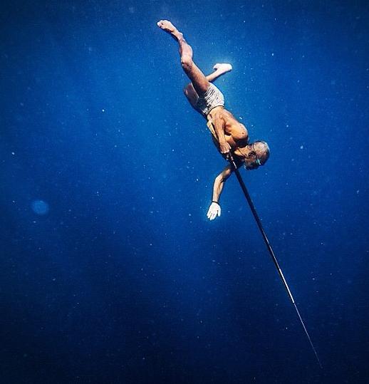 Bajo spear fisherman, Sulawesi Indonesia.