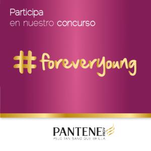 Concurso Pelo Pantene en Instagram #foreveryoung