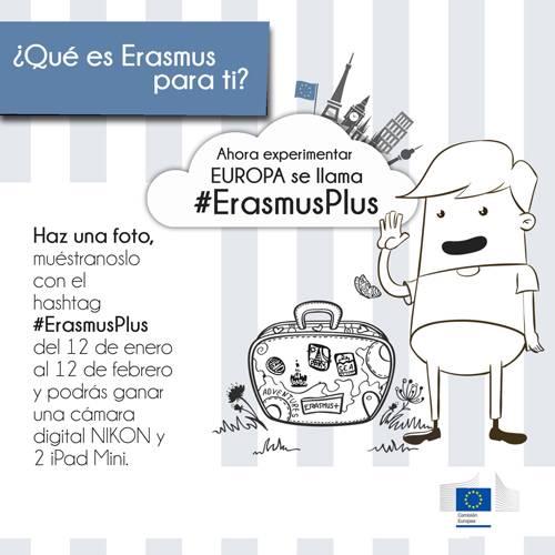 Concurso #erasMusPlus en Instagram
