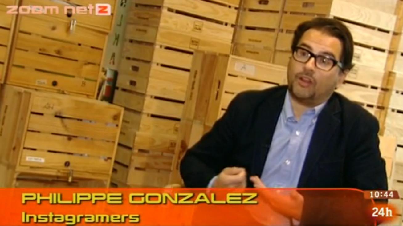 Instagramers en Zoom Net Programa de Televisión Española