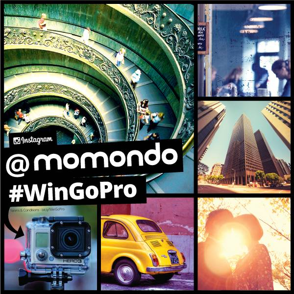 WIN a GoPro camera in the momondo Instagram competition!