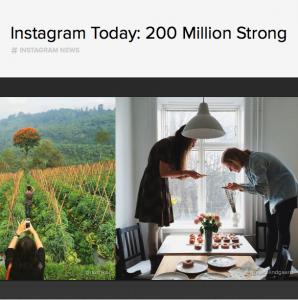 Instagram 200 millones de usuarios