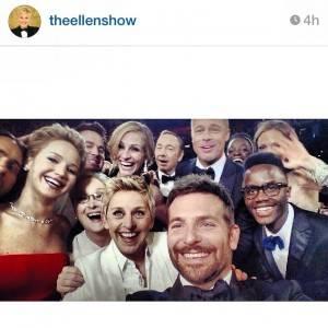 Ellen Degeneres Selfie Oscars 2014