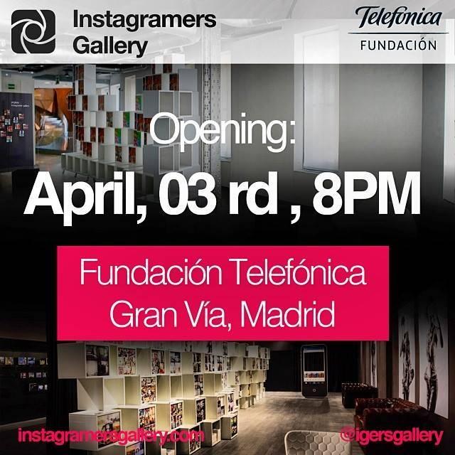 Hoy abre la primera Instagramers Gallery en Europa en Fundación Telefónica Madrid