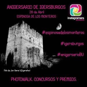 CARTEL ANIGERSARIO Instagramers Burgos