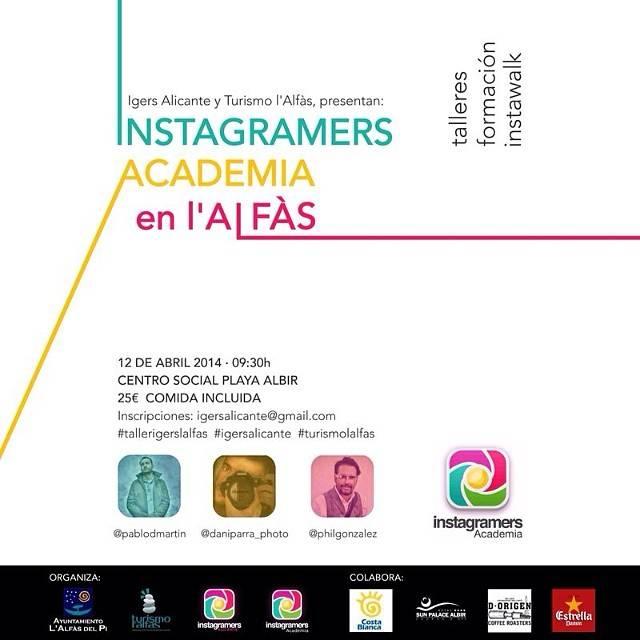 La Instagramers Academia visita L´Alfás del Pi con Instagramers Alicante
