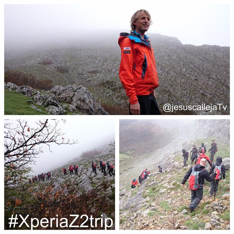 XperiaZ2Trip con Jesús Calleja – ¿Cómo poner el Sony Xperia Z2 a prueba?