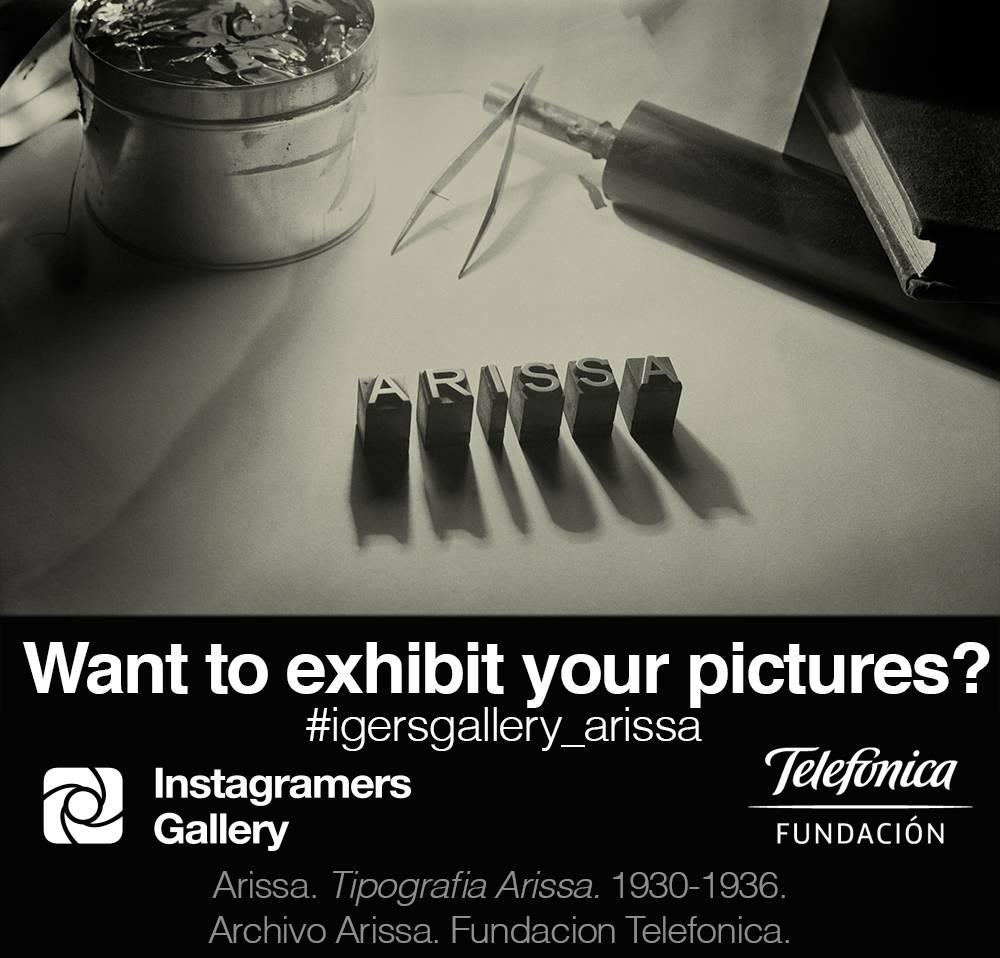 Join igersgalleryMadrid, inspired by Antoni Arissa's work!