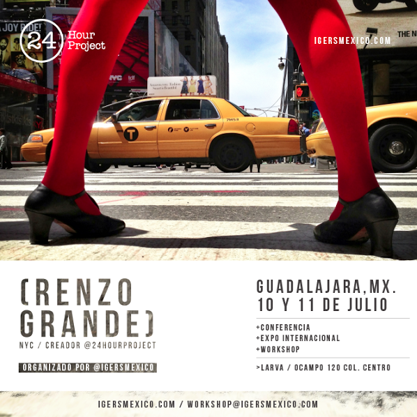 The 24 Hour Project Exhibition in Guadalajara Mexico