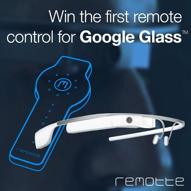 First Google Glass Instagram Contest ever with Remotte
