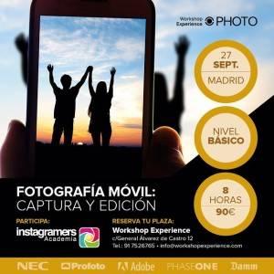 instagramers academia  workshop experience en madrid