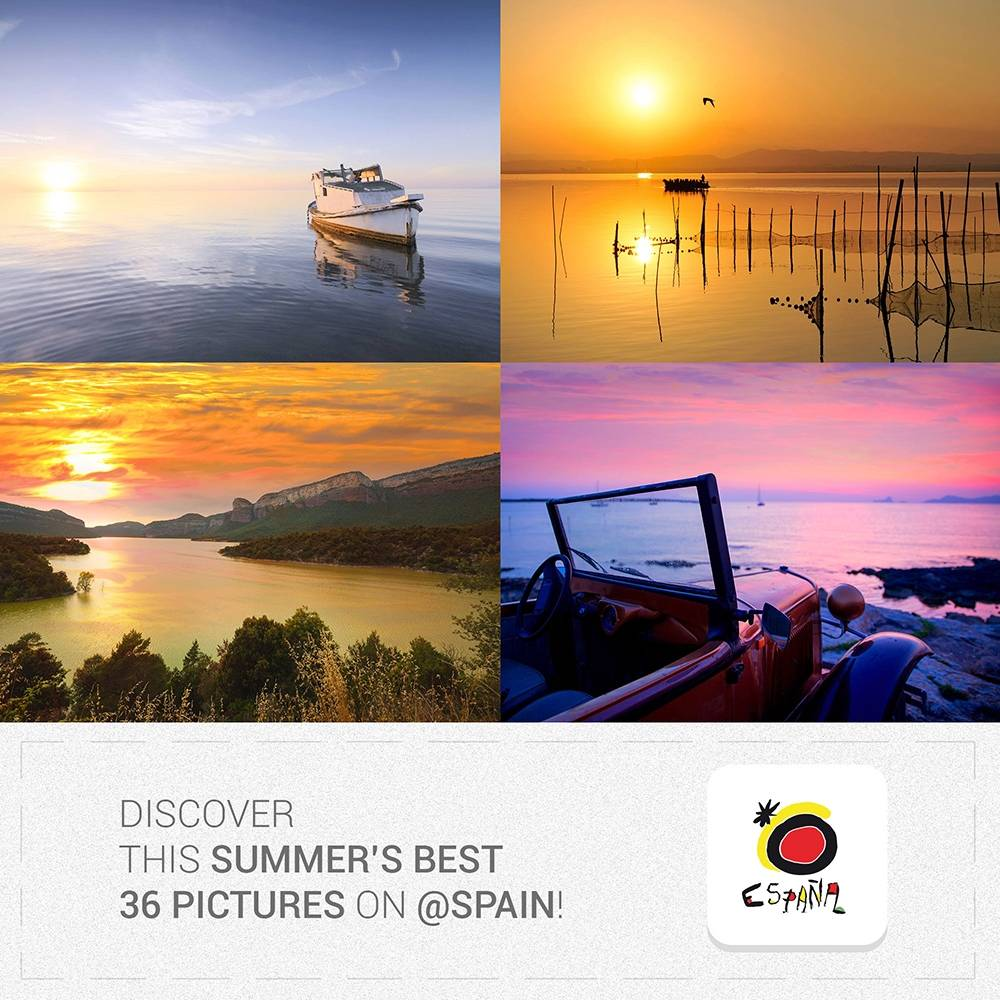 #VisitSpain – Best Summer pictures in Spain Winners announcement!