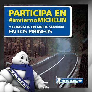 Concurso #InviernoMICHELIN y gana un fin de semana en Los Pirineos