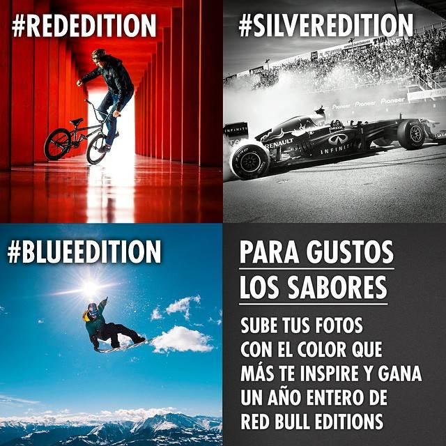 Red Bull lanza un original concurso de fotos en Instagram