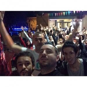 Taller Huesca Selfie Escenario