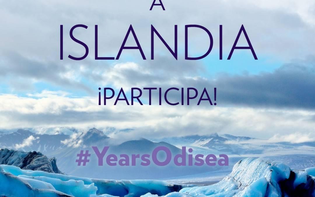 Participa a #YearsOdisea y Gana un viaje a Islandia con Odisea en Instagram