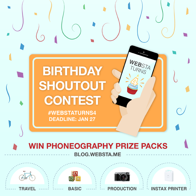 Websta's Birthday Giveaway Contest on Instagram